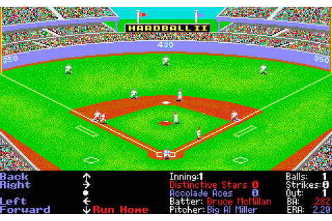 Hardball II gallery. Screenshots, covers, titles and ...