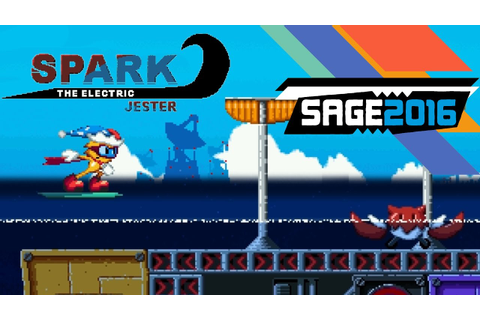 Spark The Electric Jester - Sonic Fan Games - SAGE 2016 ...