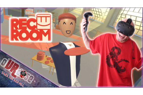 Rec Room #1 - VR Dodgeball, Disc Golf and Paddleball | HTC ...