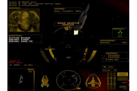 Descent: Freespace - The Great War (1998 - Windows ...