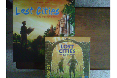 Board Game Addicts: Lost Cities vs Lost Cities
