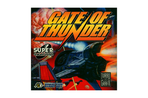 Gate of Thunder Review for the TurboGrafx-CD (TurboDuo ...