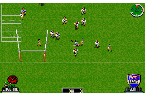 Скриншоты International Rugby Challenge на Old-Games.RU