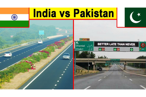 Indian roads vs Pakistani Roads (2018) - YouTube