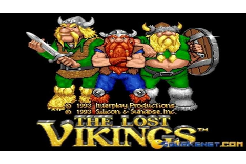 The Lost Vikings gameplay (PC Game, 1992) - YouTube