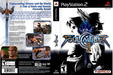 Playstation 2 Eterno: Analise: Soul Calibur II