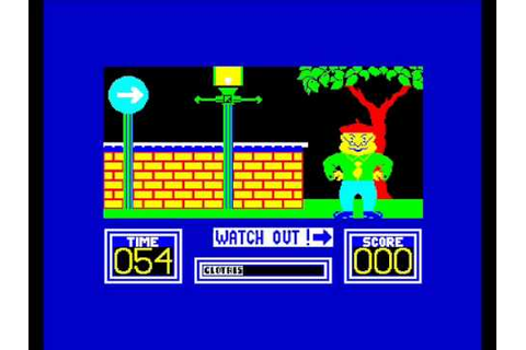 Benny Hill Madcap Chase,DK Tronics,ZX Spectrum. - YouTube