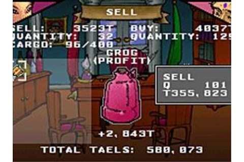 Sea Trader - Rise of Taipan Gameboy Advance ROM Download ...