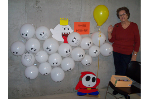 king boo balloon pop was a favorite my lovely grandma manned this game ...