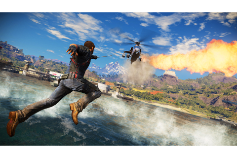 Why Just Cause 3 is my game of the year | The Verge