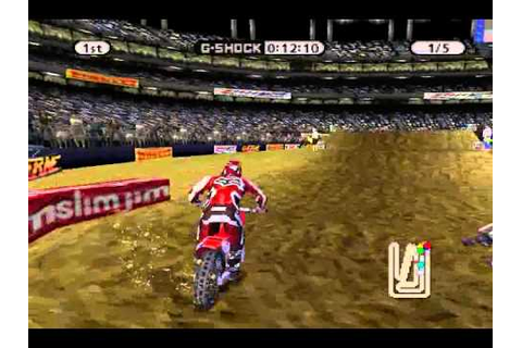 Playstation - Supercross Circuit - 125 West Supercross ...