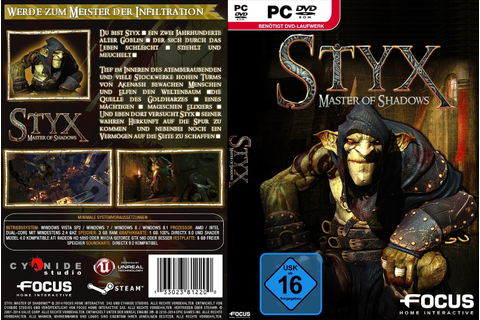Styx Master of Shadows (2015) Cover Pc ~ Giga In Games