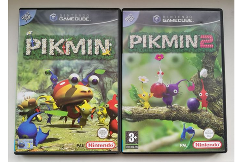 2 Nintendo Gamecube games--Pikmin 1 and Pikmin 2 - Catawiki