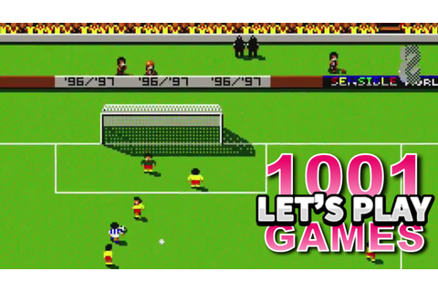 Sensible World of Soccer (Amiga & DOS) - Let's Play 1001 ...