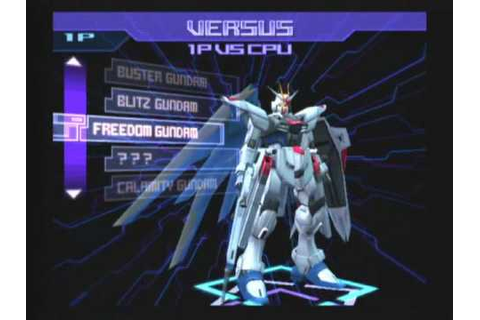 Battle Assault 3 Featuring Gundam SEED Game Sample ...