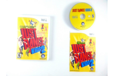 Just Dance Kids 2 game for Wii (Complete) | The Game Guy