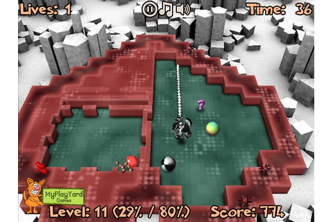 Xonix 3D: Level Pack Hacked / Cheats - Hacked Online Games