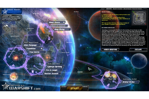 Warshift is an RTS/action/shooter hybrid made by one ...