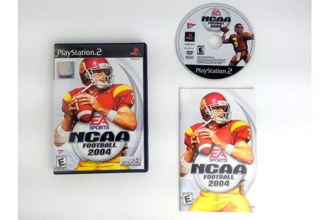 NCAA Football 2004 game for Playstation 2 (Complete) | The ...