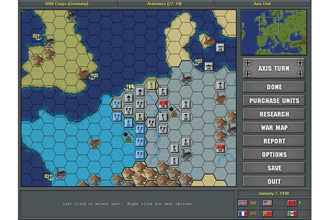 Strategic Command: European Theater PC Preview | GameWatcher