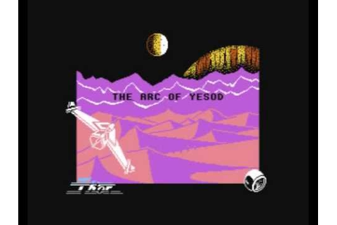 Commodore 64: The Arc of Yesod game ending by Thor/Odin ...