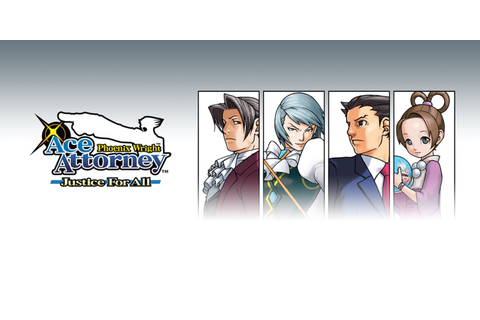 Phoenix Wright: Ace Attorney Justice for All | Nintendo DS ...