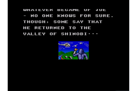 Images de The Cyber Shinobi sur Sega Master System ...