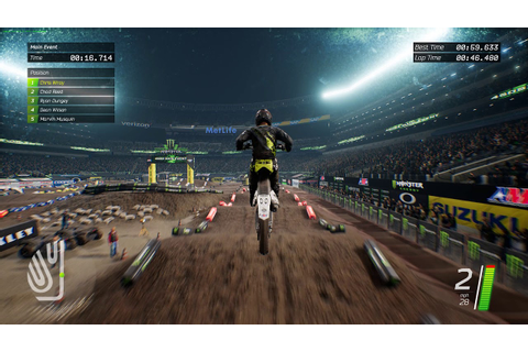 Monster Energy Supercross - The Official Videogame Preview ...