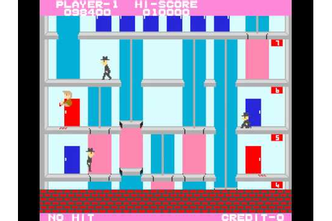 Arcade Game: Elevator Action (1983 Taito) - YouTube