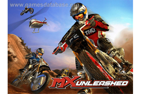 MX Unleashed - Microsoft Xbox - Games Database