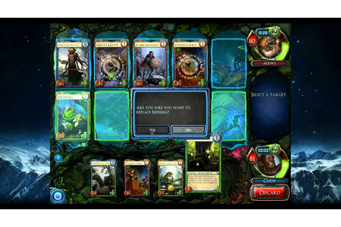 Solforge Draft 10 - Game 2 - YouTube