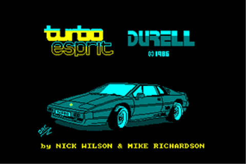 Download Turbo Esprit (Amstrad CPC) - My Abandonware