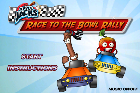 Apple Jacks™ Race to the Bowl Rally | iPhone Kids games ...