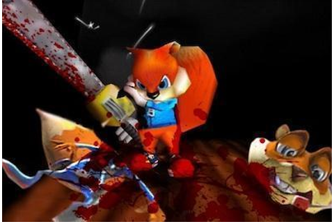 Conker's Bad Fur Day Review for N64