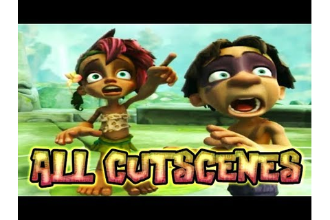 Tak and the Guardians of Gross All Cutscenes | Full Game ...