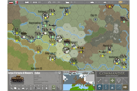 Video games: Commander – Europe at War Grand Strategy 2.0 ...