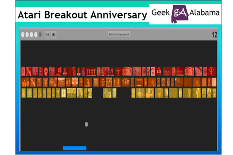 Play the Atari Breakout Game on Google Images | Geek Alabama
