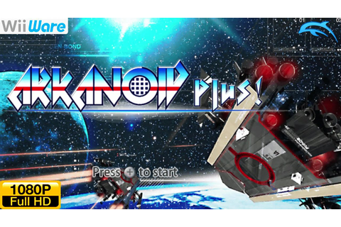 Arkanoid Plus! - WiiWare Wii Gameplay 1080p (Dolphin GC ...
