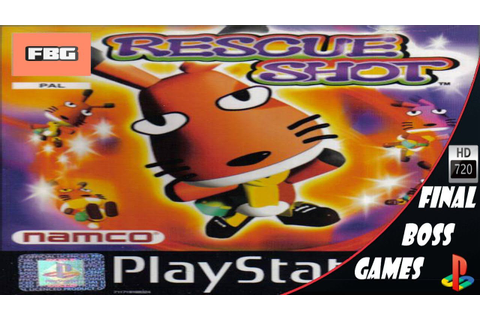 Rescue Shot Bubibo | PS1 | Final Boss | Boss games, Cereal ...