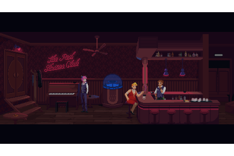 CYBERPUNK THRILLER 'THE RED STRINGS CLUB' COMING JANUARY ...