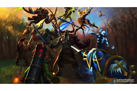 Heroes of newerth game wallpaper | AllWallpaper.in #11797 ...