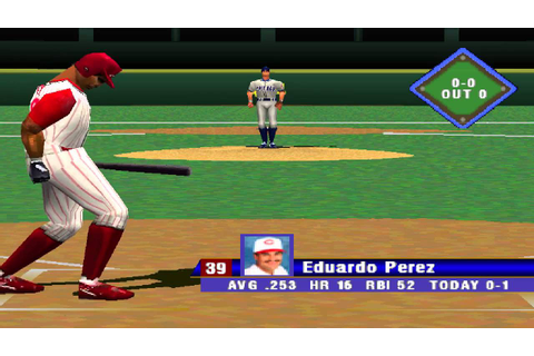 MLB 99 PS1 Cubs vs. Reds [HD] - YouTube