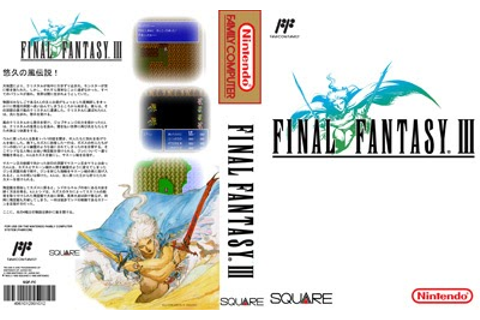 Game Case World: Final Fantasy III for the NES in English ...