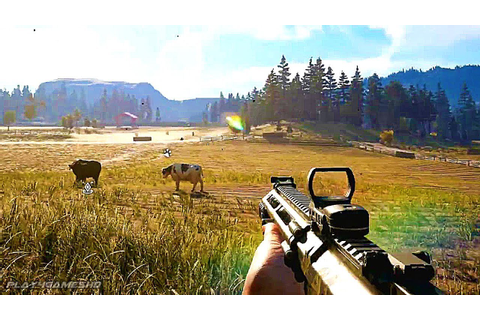 FAR CRY 5 - 10 Minutes of New Gameplay Walkthrough ...