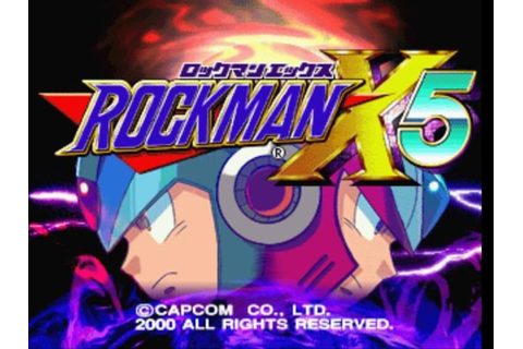 Mega Man X5 (2001) by Capcom Entertainment PS game