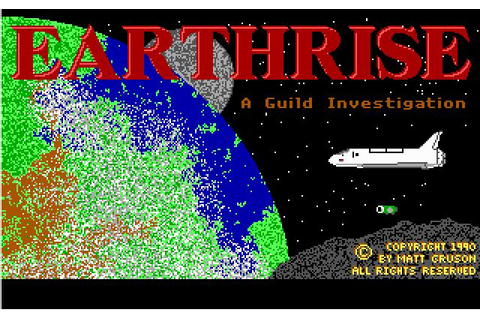 Earthrise Download (1990 Adventure Game)