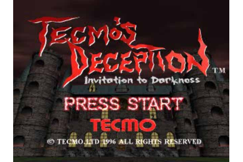 Tecmo's Deception: Invitation to Darkness - Retro ...