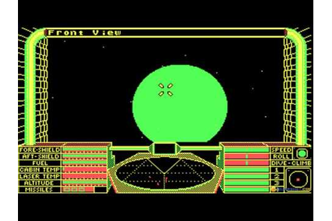 Elite gameplay (PC Game, 1984) - YouTube