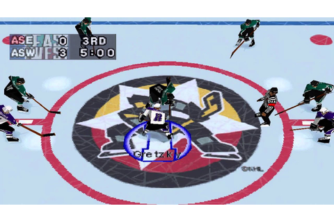 NHL Powerplay '96 Gameplay All-Star Match (PlayStation ...
