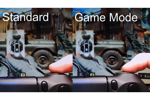 Does Game Mode Make a Difference? - TV/Monitor Input Lag ...